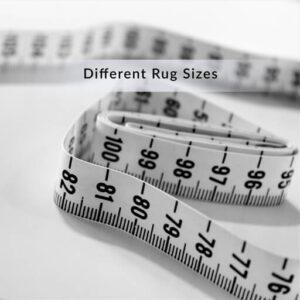 Matthebasics different rug sizes