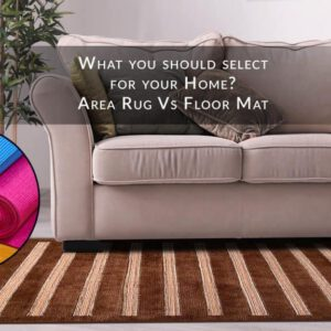 difference between rug and mat