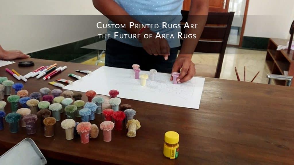 Custom Printed Rugs Are the Future of Area Rugs
