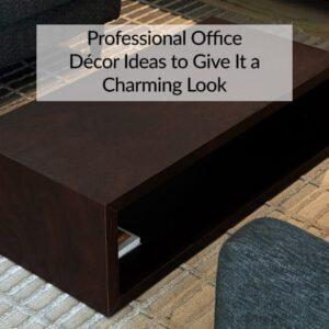 Professional Office Décor Ideas