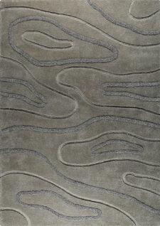 Agra Grey Hand Tufted Area Rug
