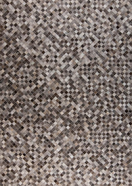 Gau Chess Grey Area Rug Carpet