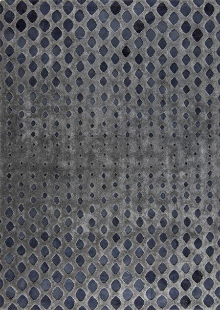 Rio Cursa Dark Grey Area Rug Carpet