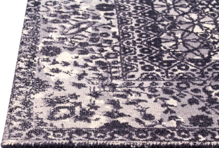 Mariam Houston Grey Area Rug Carpet