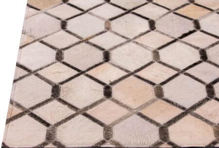 Gau Hydra White/Grey Area Rug Carpet