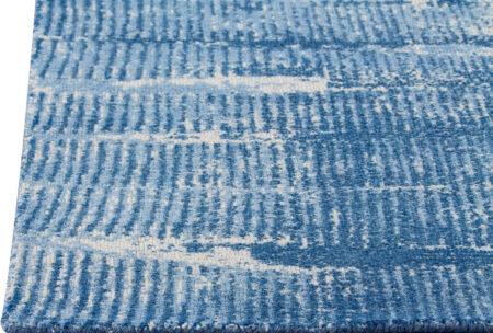 Mariam Jackson Blue Area Rug Carpet