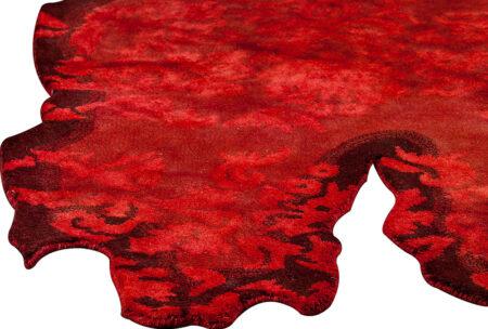 Jalwa-1 Red Vintage Area Rug Carpet