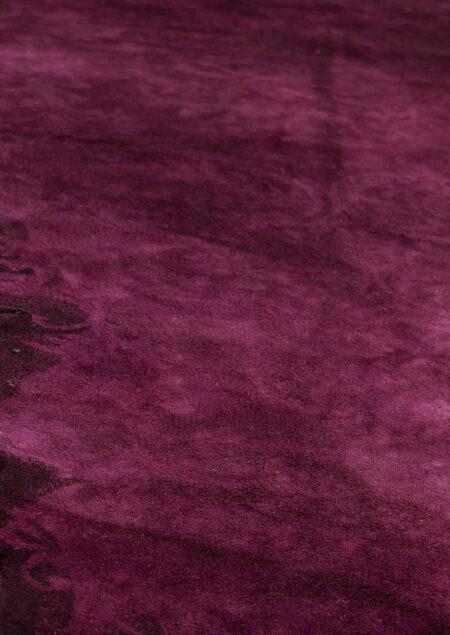 Jalwa-2 Purple Vintage Area Rug Carpet