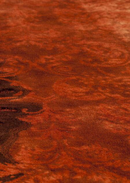 Jalwa-2 Rust Vintage Area Rug Carpet