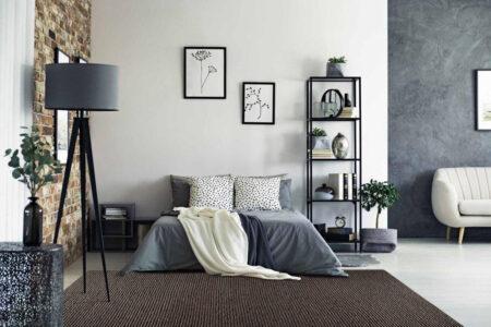 Feel Ladhak FD-3 Dark Beige Area Rug Carpet