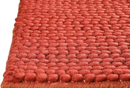 Feel Ladhak Red Area Rug Carpet