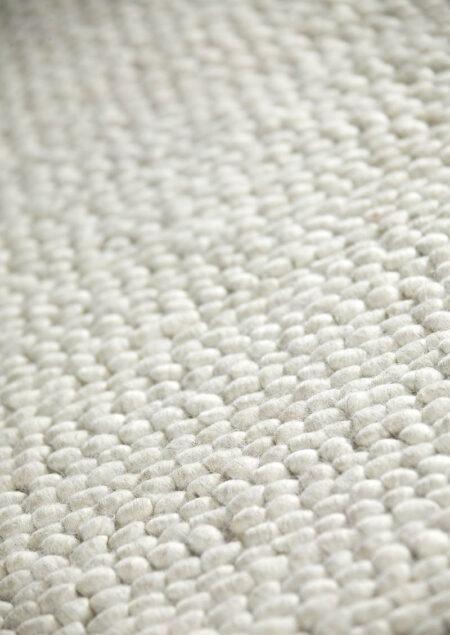 Feel Ladhak White Area Rug Carpet