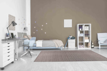 Mariam Norman Brown Area Rug Carpet