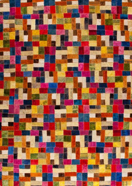Vintage Puzzle Multi Area Rug Carpet