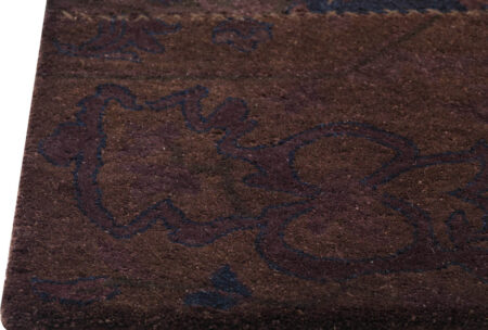 Vintage Renaissance Brown Area Rug Carpet