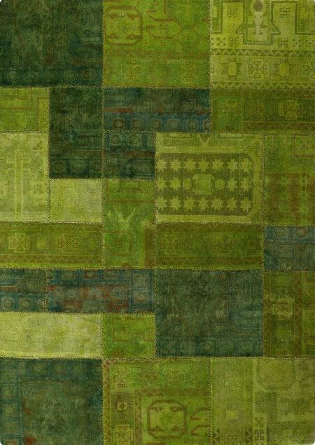Vintage Renaissance Green Area Rug Carpet