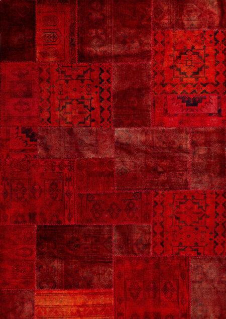 Vintage Renaissance Red Area Rug Carpet