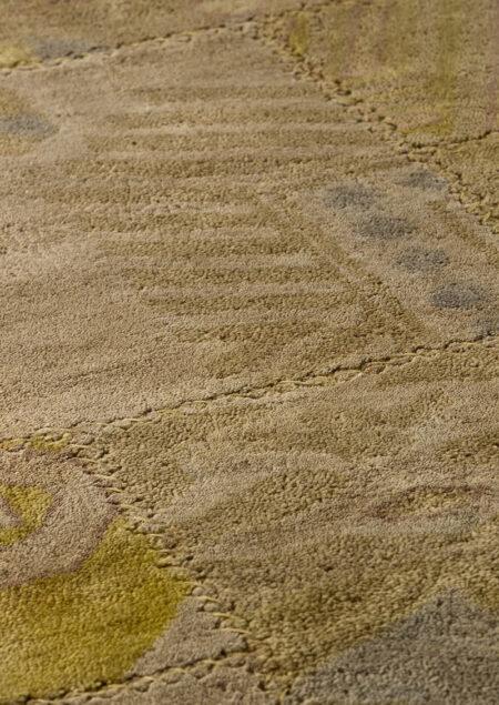 Vintage Sarangi Beige Area Rug Carpet
