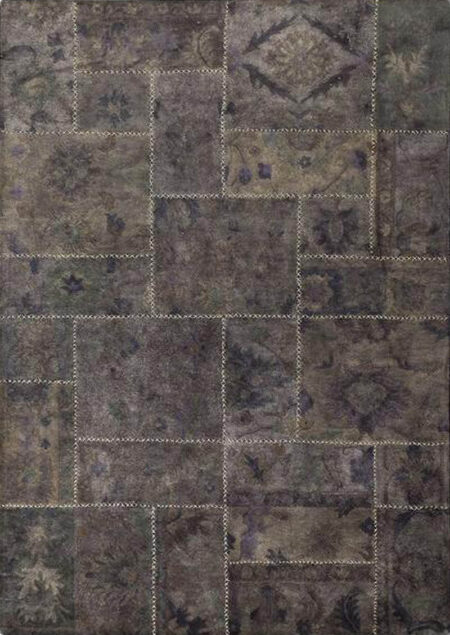 Vintage Sarangi Grey Area Rug Carpet