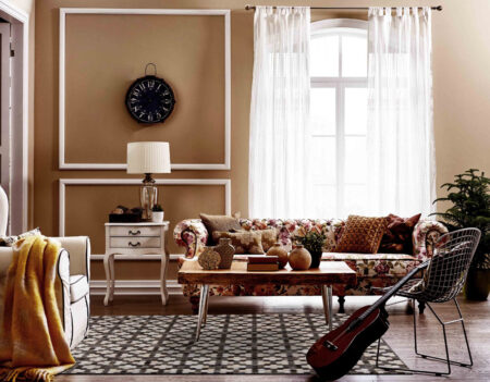 Gau Star Grey/White Area Rug Carpet