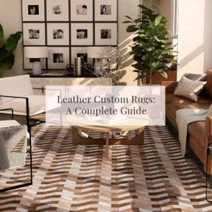 Leather Custom Rugs
