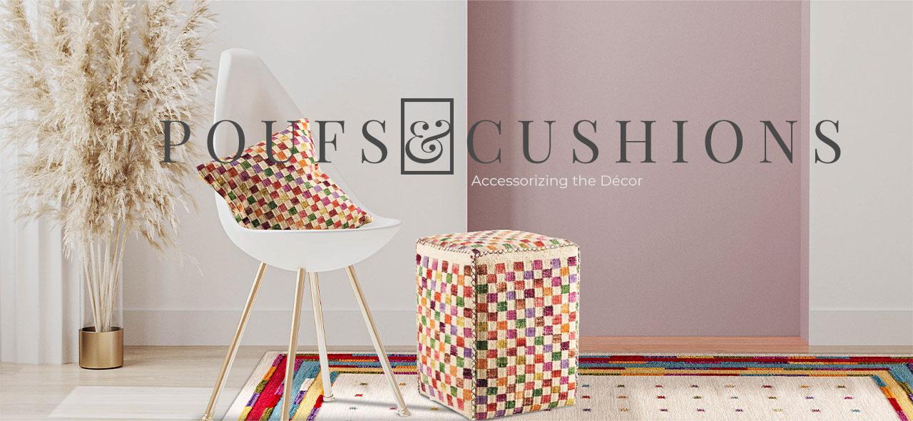 poufs &cushions